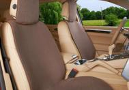 麦瑞琳100%纯亚麻汽车坐垫超薄座套四季通用