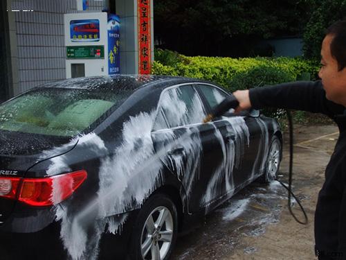 自助洗车误区